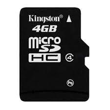 THẺ NHỚ KINGTON MICRO SD 4GB BẢO HÀNH 1 NĂM ĐẶT HÀNG